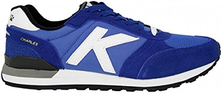 KELME - Zapatilla Casual Retro Running Charles, Unisex, Royal, 37 ...