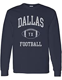 City Classic Football Arch American Football Team Long Sleeve T Shirt