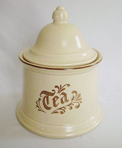 (Pfaltzgraff Village : Tea Canister with Lid)
