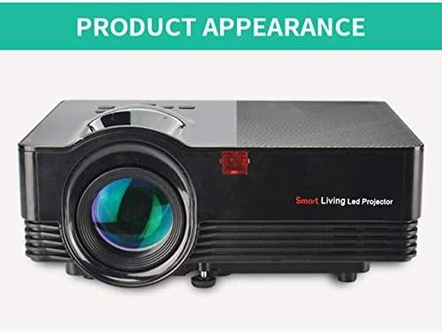 WOSOSYEYO Mini portátil LED Home Ayuda del proyector HD 1080P ...