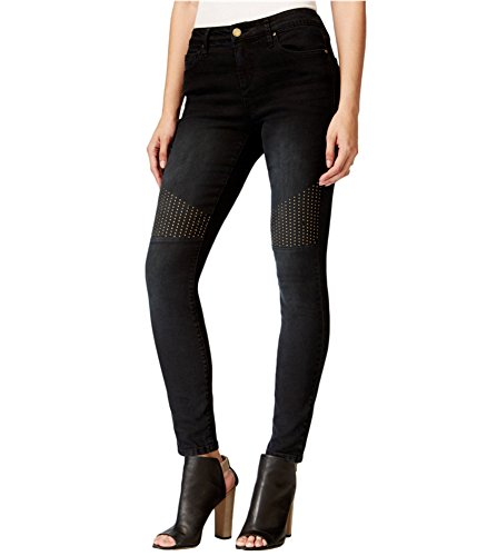 Rachel Rachel Roy Icon Skinny Black Wash Jeans Black 24