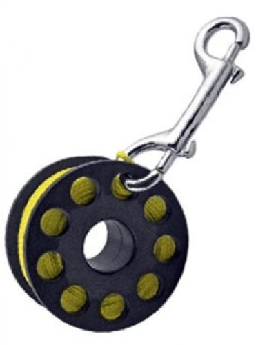 Finger Reel with Brass Clip Wreck Scuba Diving Tech Spool 3 Sizes, LARGE 160 FT Storm Accessories