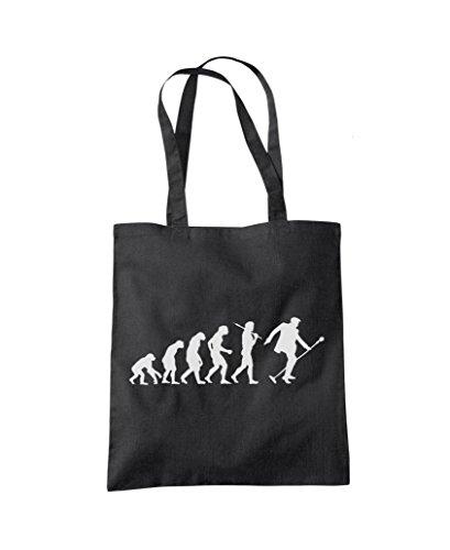 Evolution 'The King' - Tote Shopper Fashion Bag Black