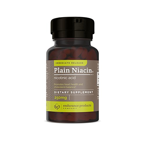 Plain Niacin 250mg Immediate Release Niacin 100 Tabs, (Packaging May Vary) - Nicotinic Acid Niacin