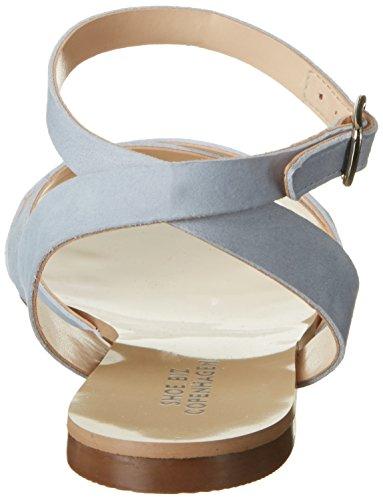 Blu nubuk Blue Light Donna Drapana Shoe Biz Sandali wqnRU8a8