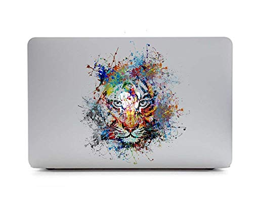 Tiger Macbook Laptops - eDesign Removable Vinyl Decal Stickers Skin for Apple MacBooks or Any Other Laptops (Tiger)