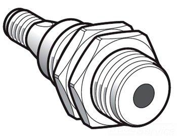 Telemecanique XX9 V3A1 C2 M12 Sensor de ultrasonidos, fixed-distance difusa modo, plástico
