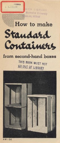 How to Make Standard Containers from Second-Hand Boxes