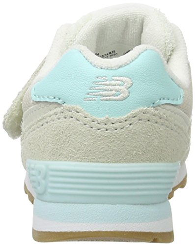 New Balance 574, Zapatillas con Velcro Unisex Niños Multicolor (Atlantic Multi)