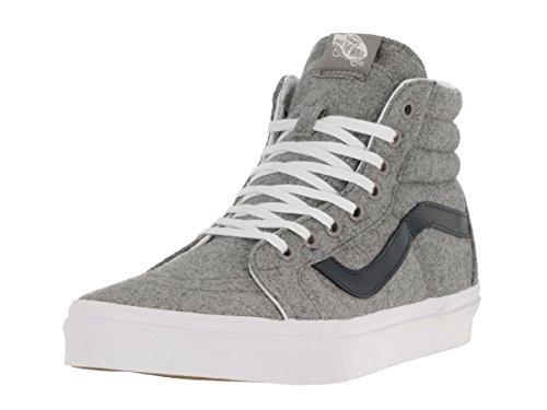 Vans Sk8-Hi Reissue Varsity Gray True White - gris / azul oscuro, 7.5 US - 40.0 EU