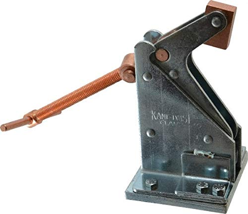 3,200 Lb Holding Capacity, 6-3/8'' Max Opening Capacity, Manual Hold Down Clamp pack of 2