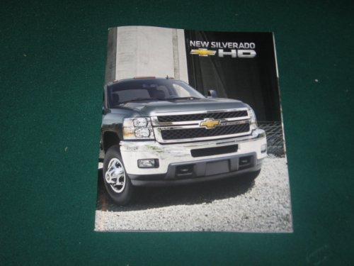 2011 Chevy Silverado HD Pickup Sales Brochure; 2500; 3500; WT; LT; LTZ