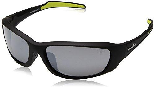 Ironman Men's Recovery Wrap Sunglasses, Black, 60 mm