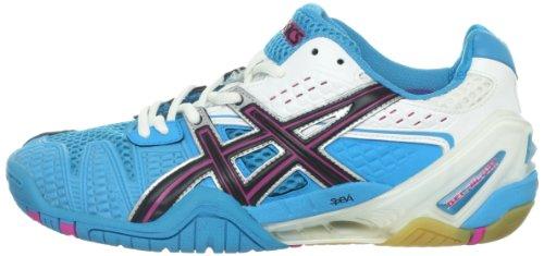 ASICS Women's GEL-Blast 5 Shoe,Ocean Blue/Black/White,8 M US by ASICS (Image #5)