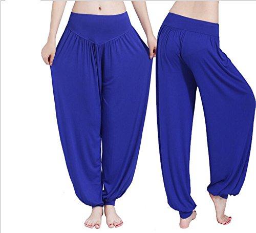 Helisopus Women's Modal Cotton Soft Yoga Sports Dance Pilates Harem - Information About Seashells