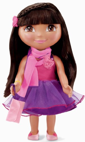 Fisher-Price Dora the Explorer Dress Up Collection Fashions - Birthday - Doll Up Dora Dress