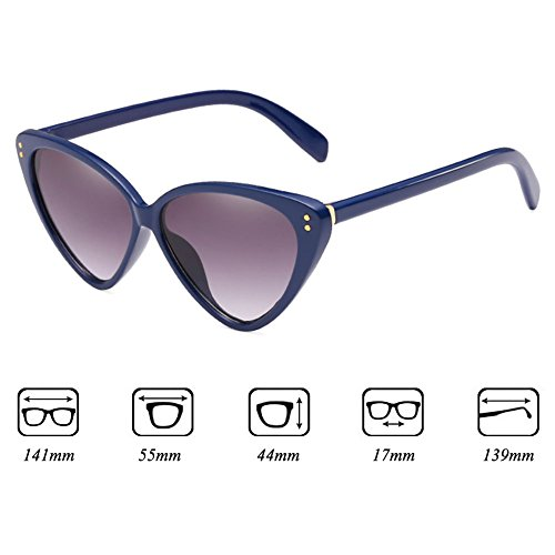 C5 Cat Sunglasses Eye Triangle Sunglasses Highdas Eyeglasses Vintage Stylish Mujeres nFABSnq