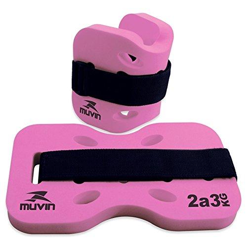 Caneleira Hidroginastica - Tornozeleira Muvin - 2 a 3kg - Pink