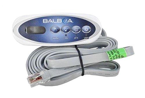 Balboa BB53238 Mini Oval Heat Jacket, 4 button LCD Topside Control by Balboa