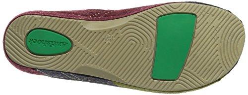 Rohde Giessen-40 Damen Pantoffeln Violett (98 Multicolor)