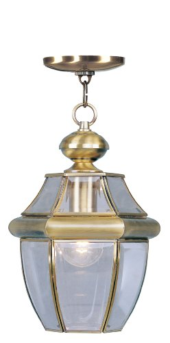 Antique Brass Outdoor Hanging Light