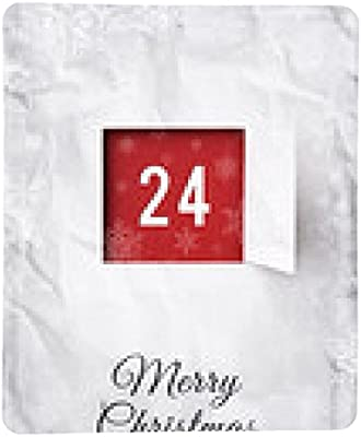 alfombrilla de ratón Tarjeta de Navidad 24 de de diciembre ...