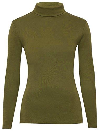 Look Maniche Basic Glossy Cachi lunghe Maglione Donna fdqAaS4A