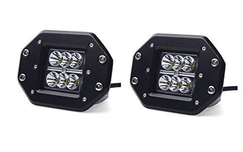 Turbo 2pcs 18W 1260LM Spot CREE Led Work Light Bar For Off-road SUV Boat 4x4WD Jeep Headlight