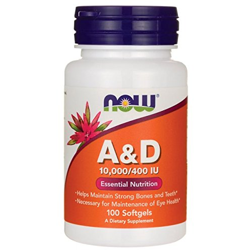 Now Foods Vitamin A & D