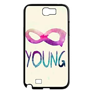 Forever Young Use Your Own Image Phone Case for Samsung Galaxy Note 2 N7100,customized case cover ygtg590256
