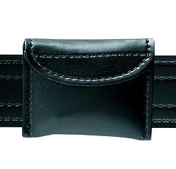 Safariland Duty Gear 3 Pair Surgical Velcro Closure Glove Pouch (Plain Black)
