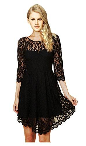ca fashion black dress - 5