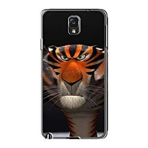 Scratch Resistant Hard Phone Covers For Samsung Galaxy Note3 With Provide Private Custom Realistic Madagascar 3 Series AaronBlanchette