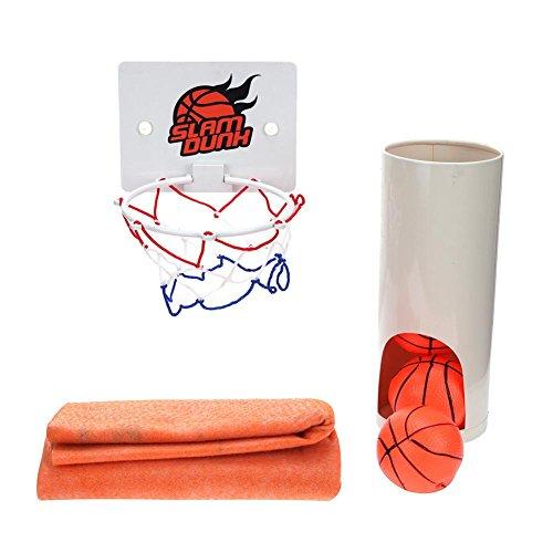 バスケットゲーム トイレ ミニバスケットボール トイレ時間かかり おもしろい ボールゲーム おもちゃ 贈り物 Prosperveil