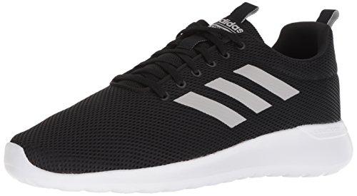 adidas Men's LITE Racer CLN Running Shoe, Black/Grey/White, 10 M US