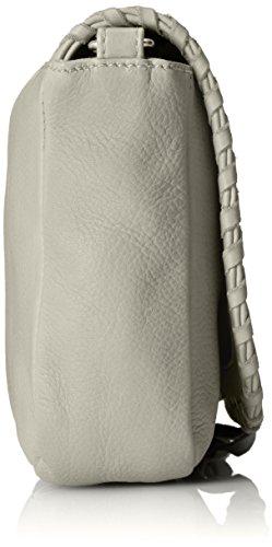 Amsterdam Cowboys Bag Tadley, Borsa a Tracolla Donna Grigio (Grau (Light Grey 150))