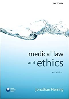 Book Medical Law and Ethics by Herring, Jonathan 4th (fourth) Edition (2012)