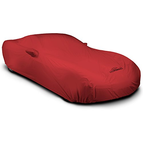 Coverking Custom Car Cover for Select Saturn Sky Models - Stormproof Solid (Red) (Saturn Sky Car Cover compare prices)