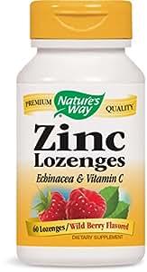 Nature's Way Zinc Lozenge, 60 Lozenges