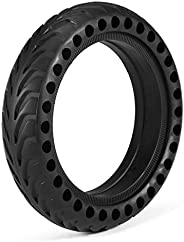 Decoe Solid Tires 8.5 Inches Electric Scooter Wheels Replacement Tyre for M365 Explosion-Proof Front or Rear H