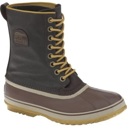 SOREL 1964 PREMIUM T CVS MENS WATERPROOF BOOTS - COLOR CORDOVAN (12)