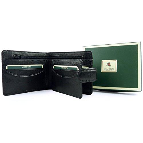 Black Visconti Heritage Wallet Visconti Wallet Mens Heritage Mens HnC0wnO4q