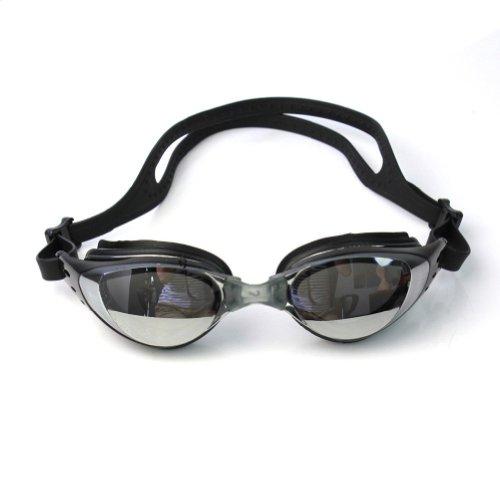 Eforstore New Arrival Adult Anti-Fog Swimming Goggles Swim UV Protection Black Glasses Waterproof Adjustable Eyeglasses for Men Women