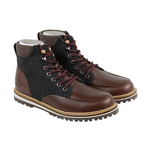 Lacoste Mens Hook - Lacoste Men's Montbard 316 2 Cam Combat Boot, Brown, 12 M US