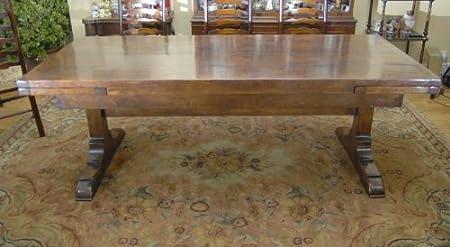 10 Ft English Oak Farmhouse Table Farmhouse Extender Amazon Co Uk