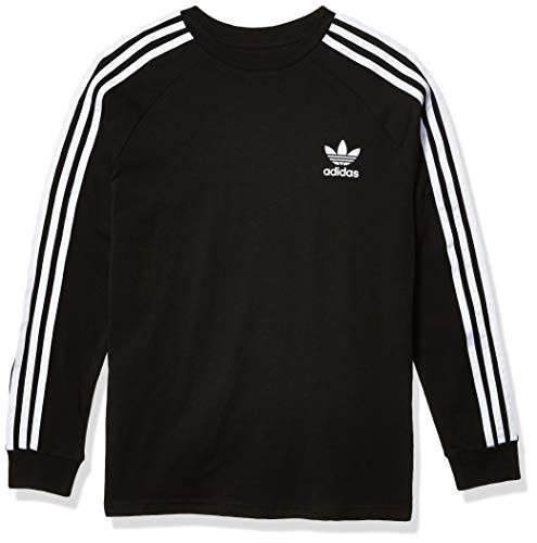 adidas Originals Youth 3 Stripes Long Sleeve Shirt