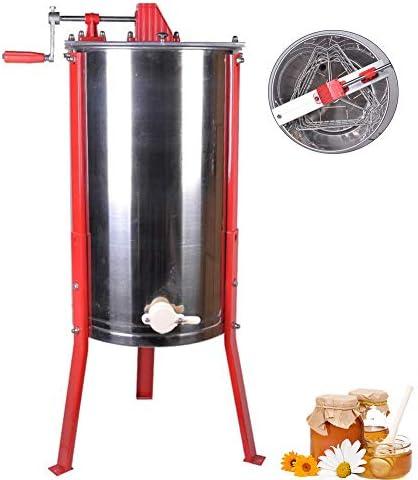 手動蜂蜜の抽出器のステンレス鋼の分離器3フレームの耐久財およびちり止め