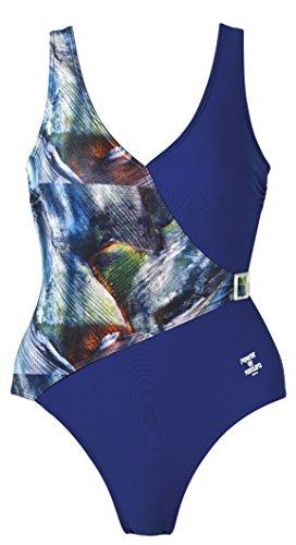 Blau 101 Basics De Mujer Para Beco Baño nbsp;– bunt Vestido nbsp;bañador 60wq6C8Zv
