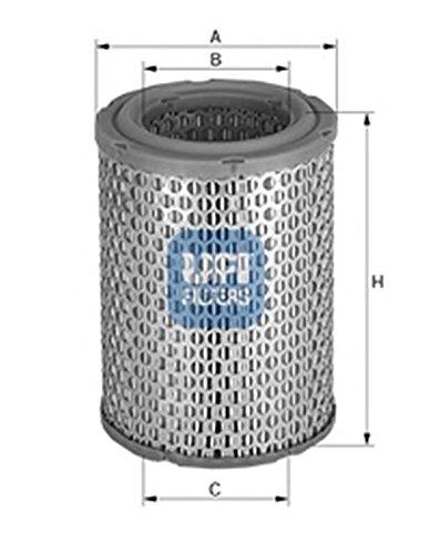 Ufi Filters 27.729.00 Air Filter: