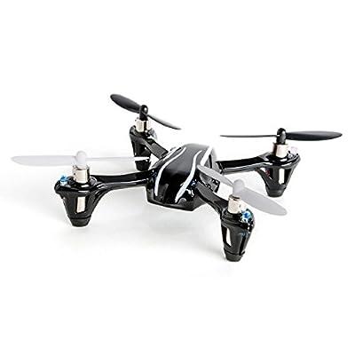 Hubsan X4 (H107L) 4 Channel 2.4GHz RC Quadcopter, Black